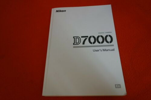 Nikon Digital Camera D7000 User
