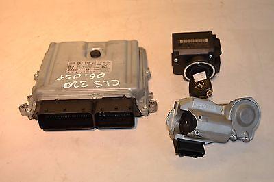 Mercedes CLS Engine ECU & Ignition Switch A6421502279 w219 CLS320 CDi V6 2006