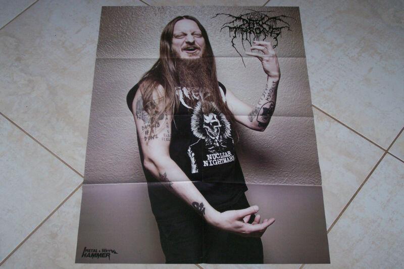 DARKTHRONE / QUEEN POSTER + PROMO CD