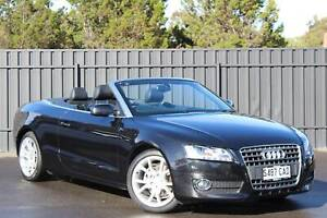 2011 Audi A5 8T Cabriolet 2dr multitronic 8sp 2.0T [MY11] North Brighton Holdfast Bay Preview