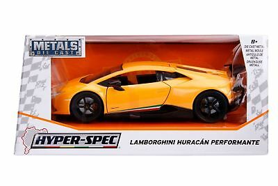 Jada Diecast Metal 1:24 Hyperspec Cars Lamborghini Huracan Performante YELLOW, used for sale  Shipping to Canada