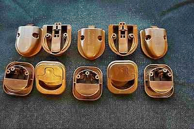 5 X Wohnmobil Schnappschloss CARAVAN-MOT-3 braun 44401