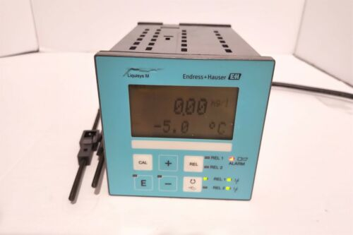 Endress Hauser Liquisys M COM223F-HS3510 DO Controller 2 Relay/1x20mA HART/115V