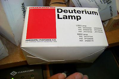 Nos Hamamatsu L6799 Deuterium Uv Lamp Light