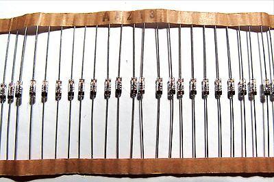 4 Pcs Aaz13 Germanium Detector Diode 100v 10ma Crystal Set Fuzz Pedals Spitzen