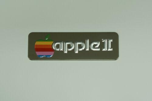 Refurbished Apple II Computer Badge Emblem NOT Plus