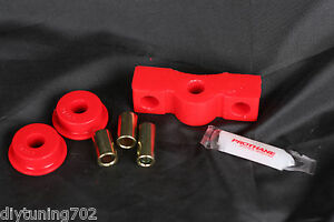 8-1602 PROTHANE RED SHIFT LINKAGE BUSHINGS URETHANE 88-00 CIVIC D-SERIES HONDA