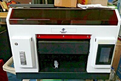 Punehod Dtg Uv Printer A3 Size Digital Uv Led Rotary Flatbed Printer For Bottles