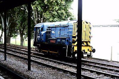 "Original Slide, ex BR class 08 D3014 ""Samson"" at Paignton August 2003"