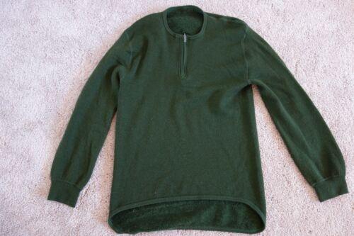 Ullfrotte Original green sweater L