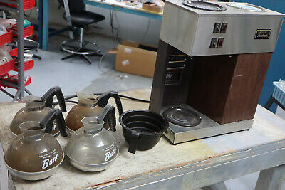 Bunn Vpr Pourover Coffee Maker With 4 Carafes