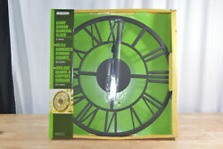 Gardman Giant Roman Numeral Clock, 22 Diameter, Metal w/Antique Rust Finish