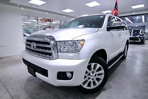 2016 Toyota Sequoia PLATINUM 4WD|Touchscreen DVD Navigation|Rear