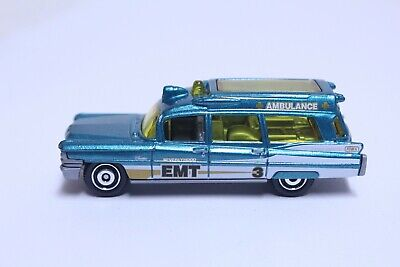 MATCHBOX 1963 CADILLAC AMBULANCE VERY NICE BEVERLYHOOD EMT