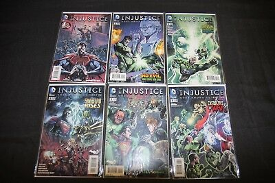 INJUSTICE GODS AMONG US: YEAR 2 1-12 SET/LOT W. ANNUAL 13PC