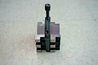 Starrett 568 V-block 38-16 Nc Machinist Tool With Clamp