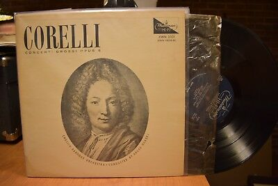 Argeo Quadri Corelli Concerti Grossi Opus 6 Westminster XWN 3301 Mono  for sale  Burlington
