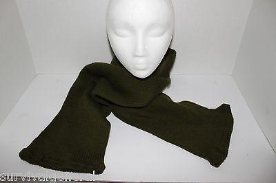Classy Stylish Women's Men's Unisex Green Wool Warm Winter Scarf Hipster Hip NEW