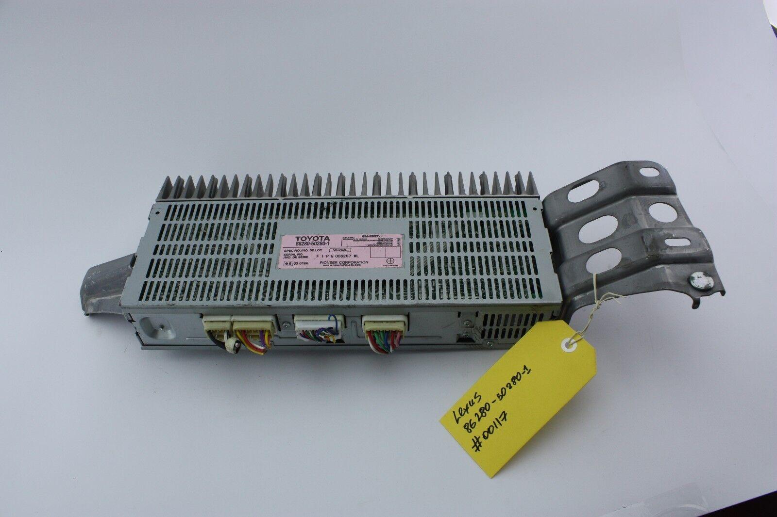 LEXUS LS430 86280-50280 -1 AMPLIFIER ASSY, STEREO COMPONENT PIONEER