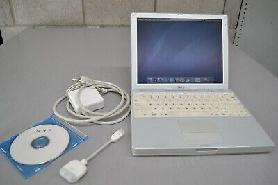 iBook G3 500 MHZ 640MB RAM 60gb HD