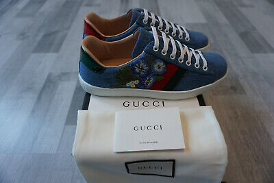 Gucci Ace Low Top Sneaker Sneakers Unisex Damen Herren Schuhe Neu Shoes Wom Men -