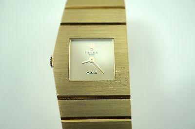 ROLEX 4313 QUEEN MIDAS 18K YELLOW GOLD LADIES MINT WATCH DATES 1974 BUY IT NOW!!
