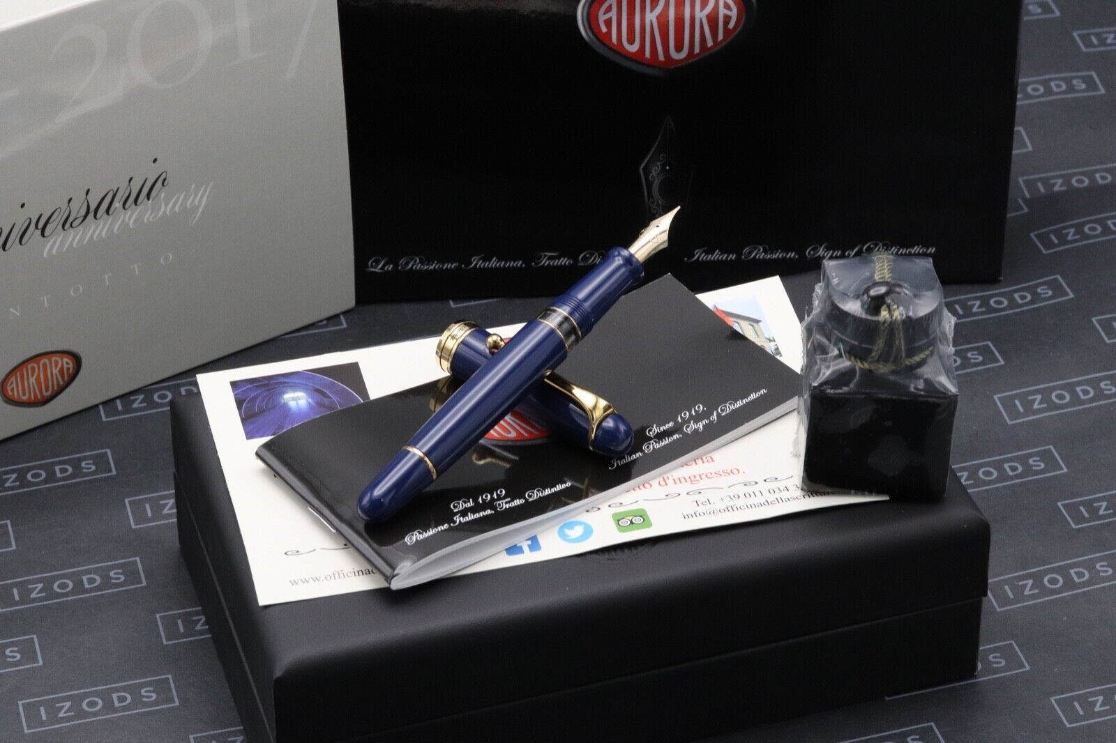 Aurora 88 Flex Blue Limited Edition Fountain Pen - UNUSED