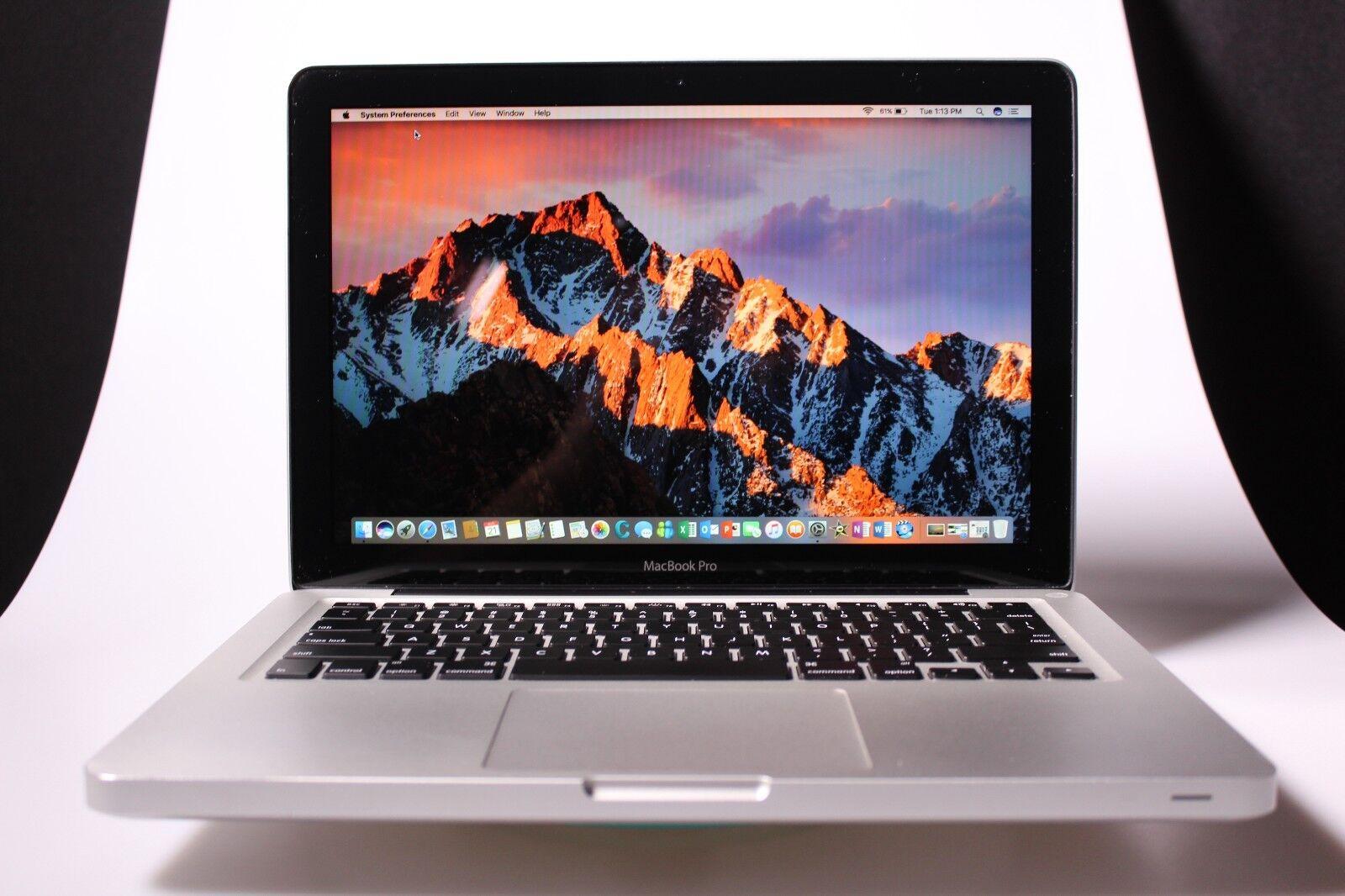 Apple MacBook Pro 13 Pre-Retina UPGRADED ~ 8GB RAM 1TB SSD HYB ~ 2 YEAR WARRANTY