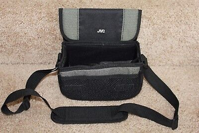 JVC Carrying Case Multi Padded Soft Compact Premium Travel Camcorder Bag soft