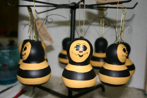 Bee Ornament ( MINI CHINESE BOTTLE GOURD)