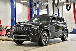 2018 Jeep Grand Cherokee LIMITED * LUXE * TOIT PANO * GPS * CUIR