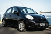 Nissan Micra 2011 ST K13 Black Manual Bondi Eastern Suburbs Preview