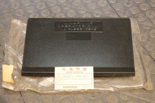 NOS Honda ATC 110 125m TRX 125 rear trunk lid NEW 80211-vm6-681 83-85 Bin G