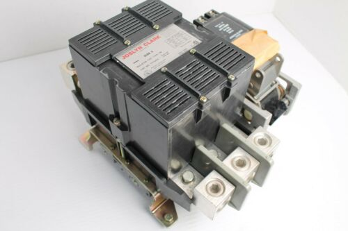 JOSLYN CLARK T77U035 CONTACTOR 600VAC SIZE 5 TYPE TM TB161-3 COIL 440-480V 60Hz
