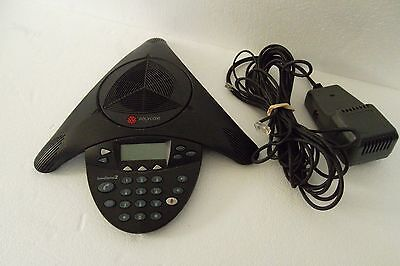 Polycom Soundstation 2 Expandable Lcd Conference Phone Wspeakers 2201-16200-001