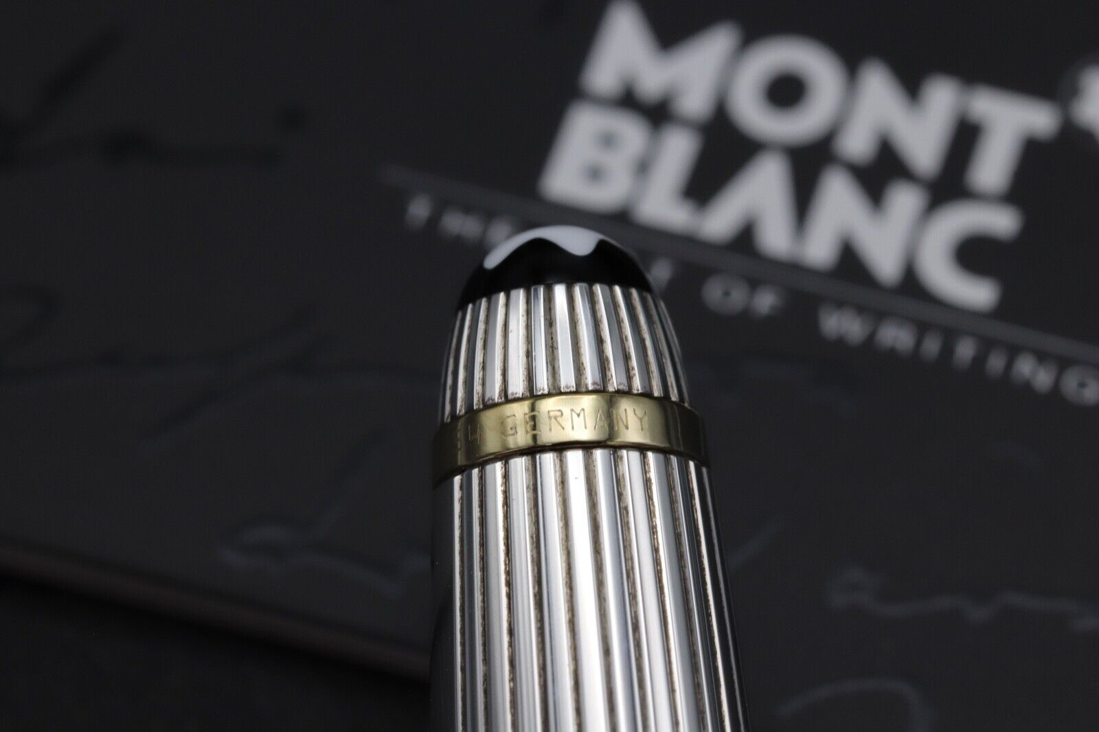 Montblanc Meisterstuck Solitaire Doue AG925 163 Classique Rollerball Pen 5