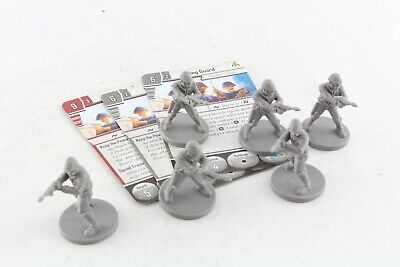 Star Wars Miniatures Wing Guard x 6 Imperial Assault Bespin Set
