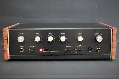 SANSUI  AU -101 amplifier   from squonk.co
