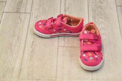 **Stride Rite SR-Logan Sneakers - Toddler Girl's Size 8M - Pink Logan Infant Shoe