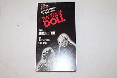 VTG VHS Movies THE DEVIL DOLL (1936) HORROR Halloween