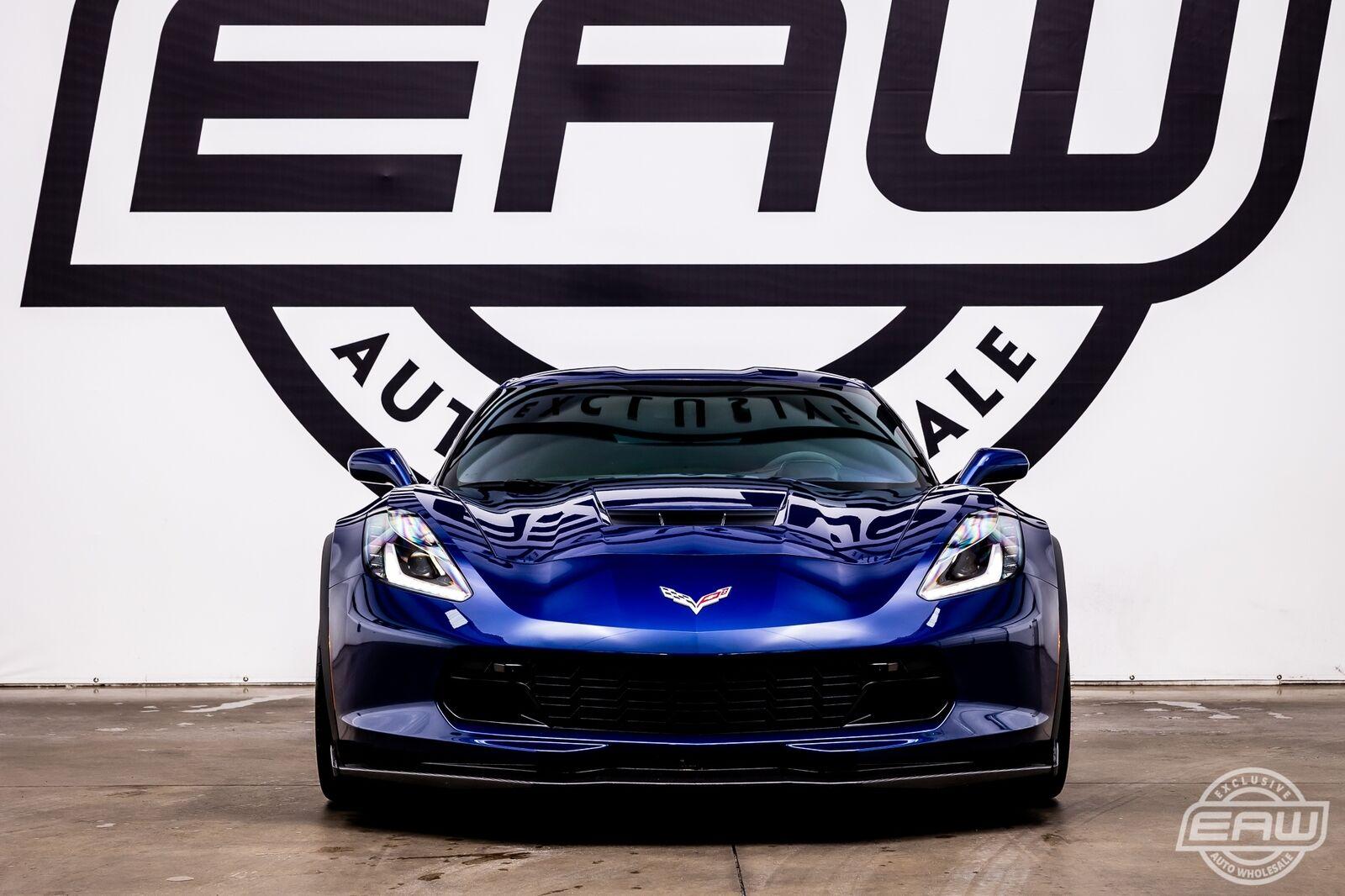 2017 Blue Chevrolet Corvette Grand Sport 2LT | C7 Corvette Photo 6