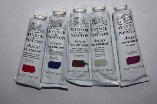5 Winsor & Newton Oil Paint
