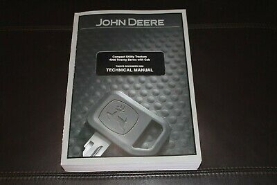 John Deere 4320 4520 4720 4120 With Cab Compact Tractor Service Manual Tm2370