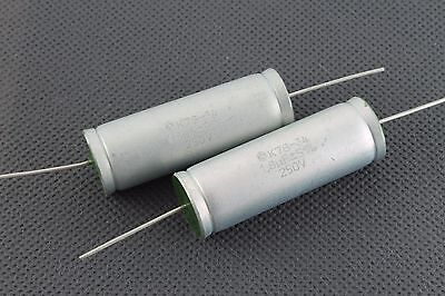 Kzk K78-34 2pcs 1.8uf 250v 5 Audiophile Grade Capacitors For Speaker Crossovers