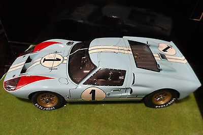 ford gt40 mk ii second 24h le mans 1966 gulf 110 exoto 10011 voiture - 1966 Ford Gt40 Gulf