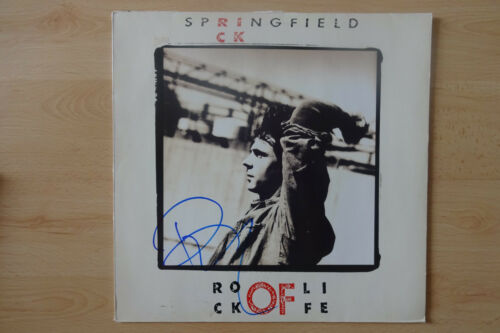 "Rick Springfield Autogramm signed LP-Cover ""Rock of Live"" Vinyl"
