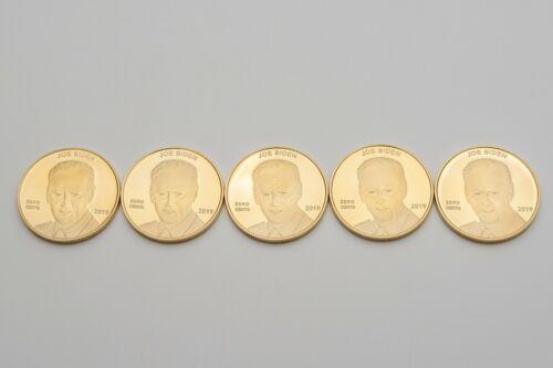 2020 QTY 5 =RARE = Unique = Joe Biden ZERO CENTS coin/ Trump Thumping Biden Coin