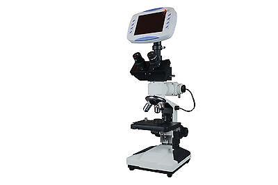 Professional Digital Metallurgical Microscope W 6 Lcd - 2mp Tv Camera - Sd Card