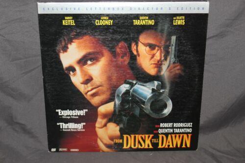 Laser Disc From Dusk Til Dawn Exclusive Letterbox Director