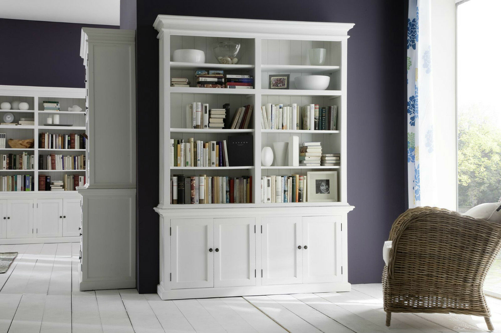 b cherregal regal schrank landhaus landhausstil shabby. Black Bedroom Furniture Sets. Home Design Ideas